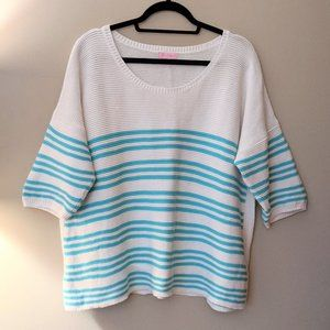 Lilly Pulitzer Oversized Striped Sweater